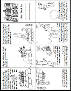Story of Abraham and Isaac Book Printable