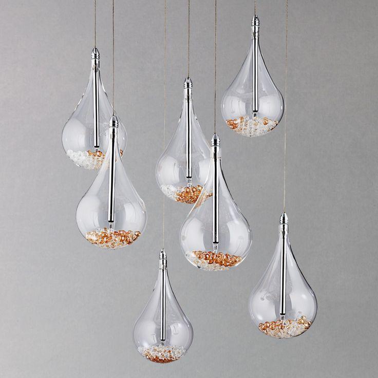 buy john lewis sebastian 7 light drop ceiling light from our ceiling lighting range at john lewis