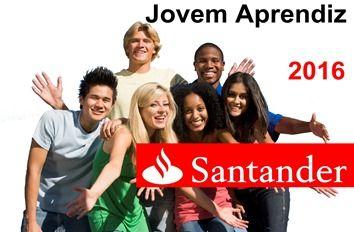 Inscrição 2016 Programa Jovem Aprendiz Santander  http://www.2viacartao.com/2015/11/inscricao-2016-programa-jovem-aprendiz-santander.html