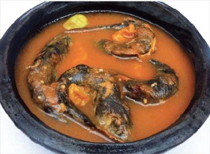 Soupe de machoirons cuisine cuisine for Afro fusion cuisine