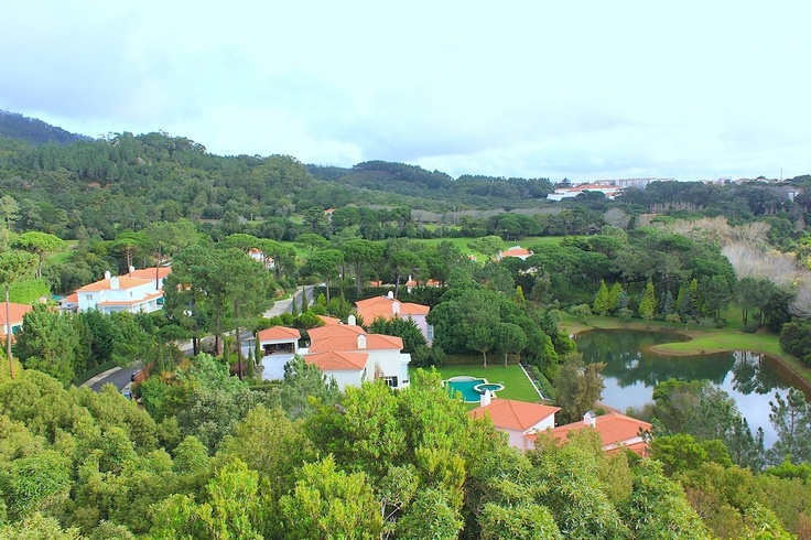 Dec 18, 2012. Amazing views of the residential areas of the Penha Longa Resort in portugal. The picture was taken from the top of the rocky mount.