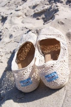 Nothing Says sUmMeR Like Lace TOMS ♥ L.O.V.E.