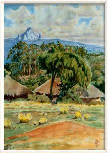 Passions: Aquarelles Henry de Monfreid - Djibouti Obock