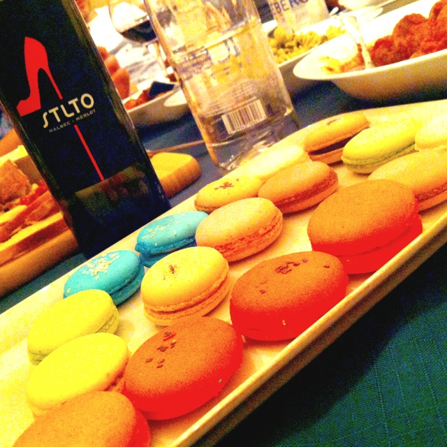 Macaroons & Wine with friends in Toronto.