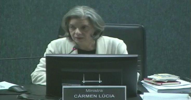Que moral tem Renam para ofender um juiz? A Dra Carmem Lúcia está de parabéns. 'Onde um juiz for destratado, eu também sou', diz Cármen Lúcia