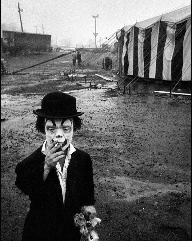 Bruce Davidson/ Magnum photos. Photograph of Jimmy Armstrong the circus dwarf Palisades New Jersey 1958. @magnumphotos