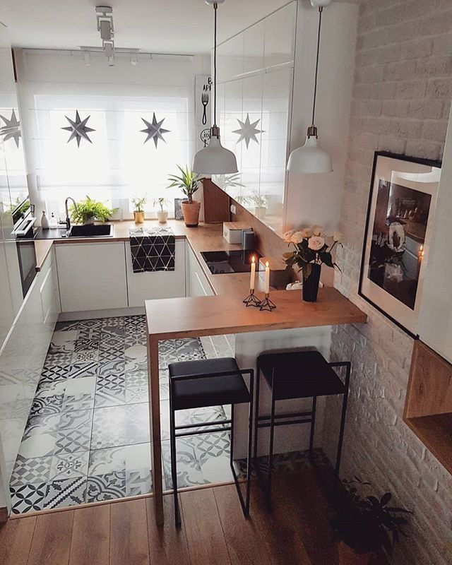 43+ Small kitchen with dining table design Best Seller