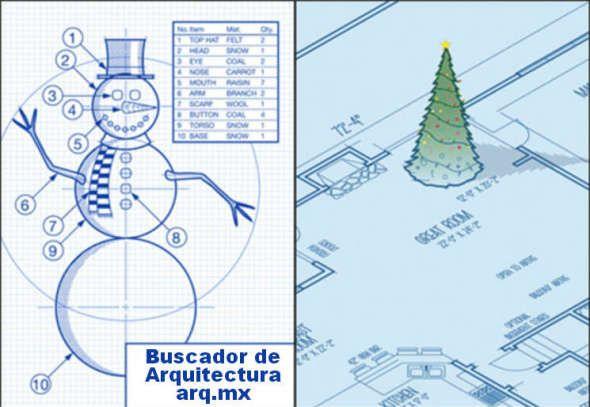 Humor en la arquitectura. Especial de Navidad y Año Nuevo - Noticias de Arquitectura - Buscador de Arquitectura