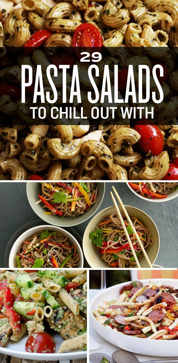 29 Pasta Salads To Chill Out With This Summer. Learn about health and nutrition with me! www.beachbodycoach.com/sarahn123