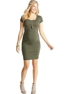 Maternity Clothes: Featured Outfits New Arrivals | Old Navy - dress $24