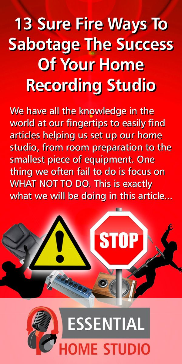 We Have All The Knowledge In The World At Our Fingertips To Easily Find Articles Helping Us Set Up Our Home Studi Home Recording Studio Recording Studio Studio