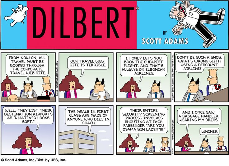 The Pantograph Punch Top Ten Most Misogynistic Dilbert Strips