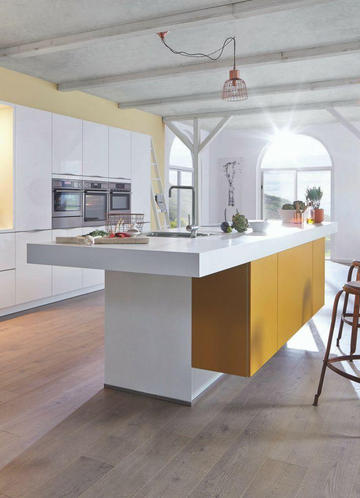 best 20+ u küche mit insel ideas on pinterest - Kchen Modern Mit Kochinsel