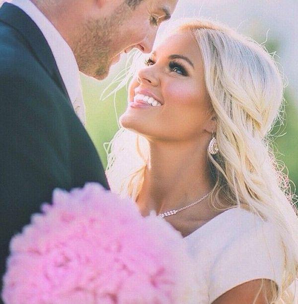 blonde beautiful bride // brides of adelaide magazine                                                                                                                                                     More