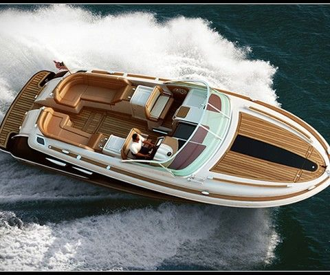 The Corsair 36 yacht is the new stylish super boat by Chris-Craft Boats. Teak