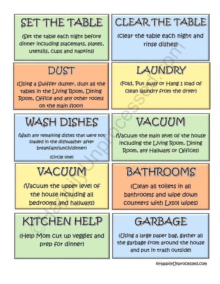Best  Adult Chore Chart Ideas On   Chore Chart For