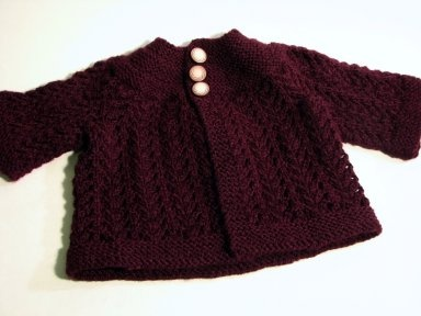 le tricotage: Zimmerman February Baby Sweater