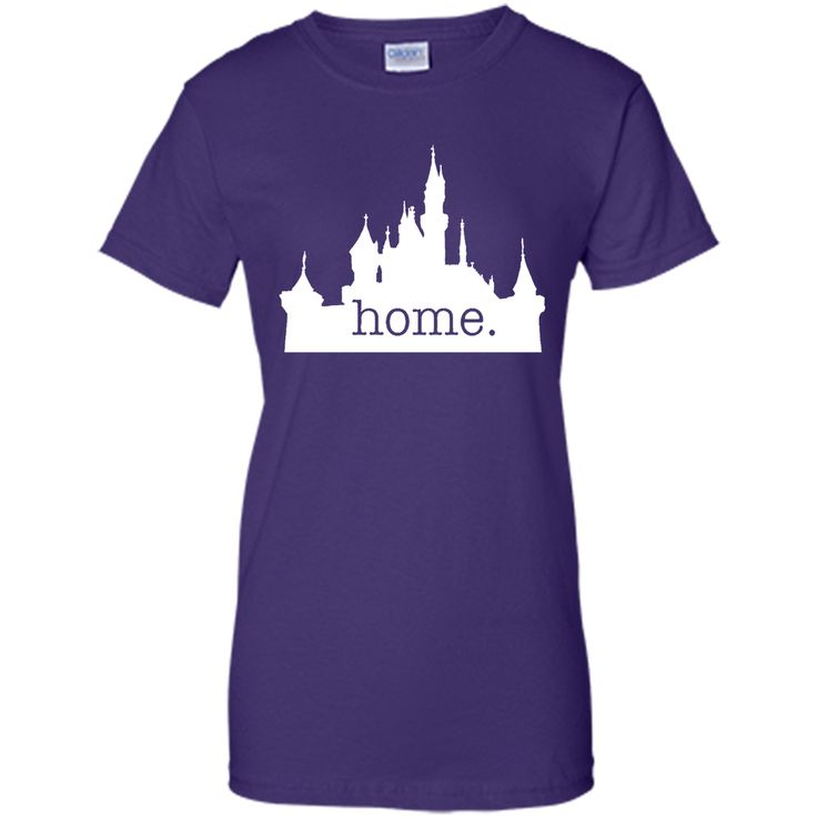 Disneyland is my home T-Shirt 100% Cotton. Imported. Machine wash cold with like colors, dry low heat. Lightweight, Classic fit, Double-needle sleeve and bottom hem, Unisex sizing; consult size chart
