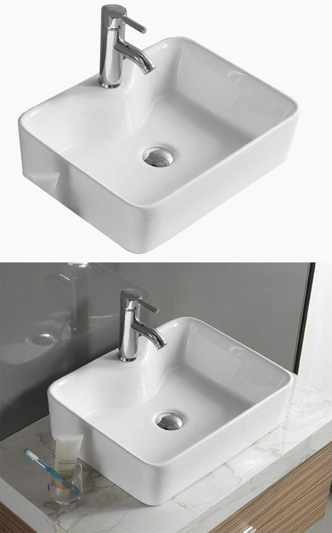 Mexen Eva 49x38 Nowoczesna Umywalka Nablatowa Stawiana Do Modnej Lazienki Home Decor Sink Decor