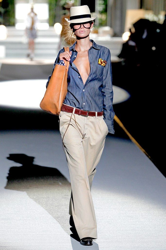 Dsquared2 Spring 2011 Ready-to-Wear Fashion Show - Bianca Balti
