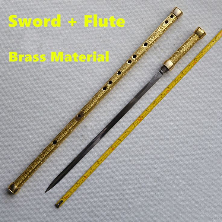 ==> [Free Shipping] Buy Best Brass Metal Flute  Sword C Key Tai Chi Bodybuilding Sword Flauta xiao Martial Arts Sword Transverse Flute Self-defense Weapon Online with LOWEST Price   32418936468