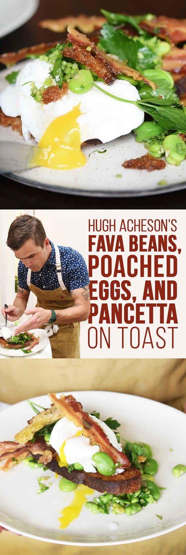 Here's How Chef Hugh Acheson Makes An Egg On Toast