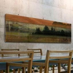 Parvez Taj Departure Lounge Wood Wall Art   2Modern Furniture & Lighting
