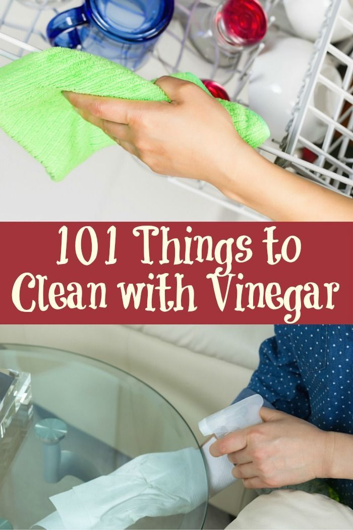 Vinegar is my new best friend.Cook, clean, preserve, laundry, pets, autos and more. The list of things you can clean with vinegar seems almost endless.