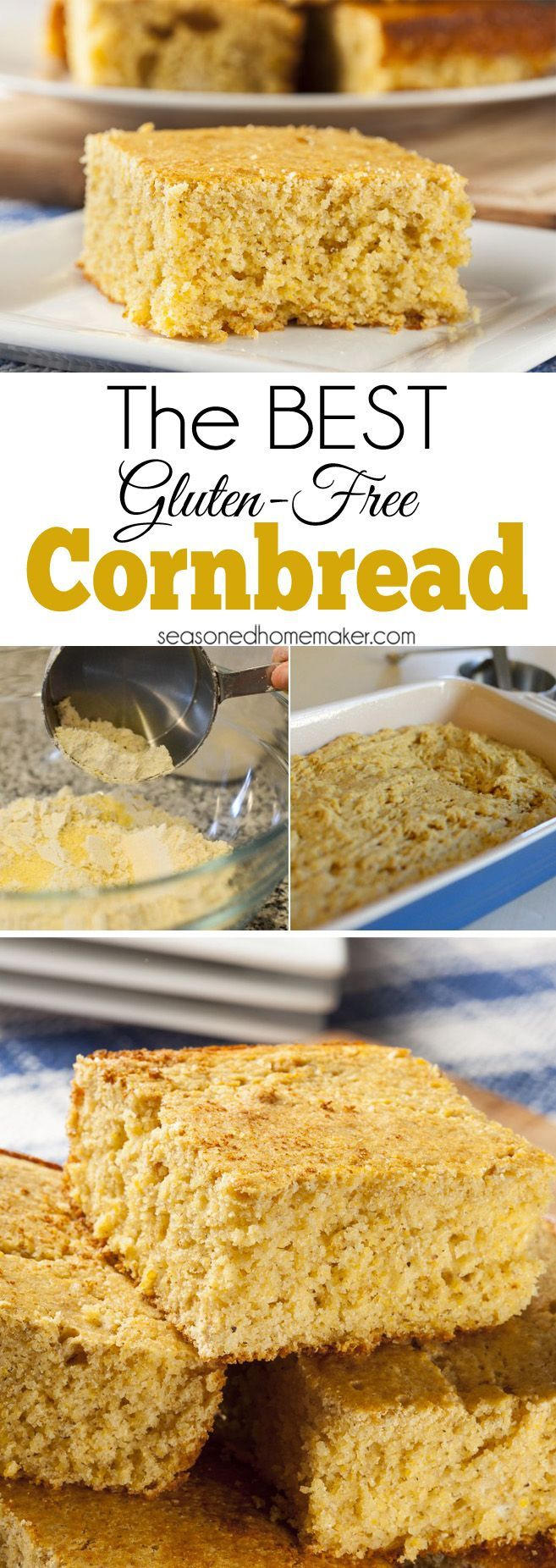 The BEST Gluten-Free Cornbread Recipe. I've been perfecting gluten-free cornbread for years and have finally created the most delicious, moist gluten-free cornbread you'll ever eat.