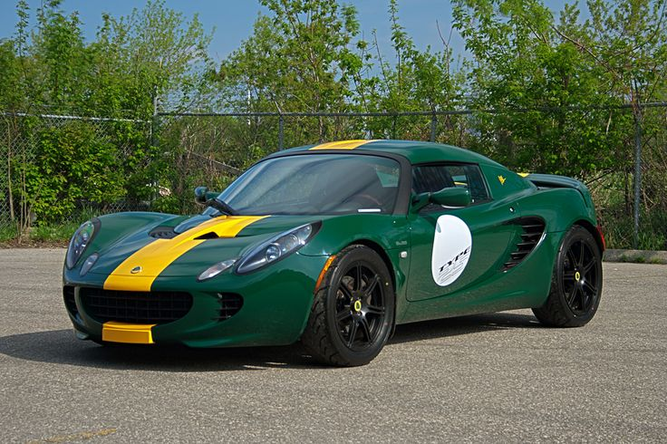 - Lotus Elise S2 Limited Editions - 2009 LOTUS ELISE SC JIM CLARK TYPE 25 (25 built; only in British Racing Green with a single Saffron Yellow stripe) - Left Front Three-Quarter View; Decals - 220 hp supercharged engine .. 2015 price starts at around US$47k