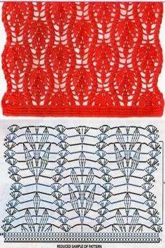 SANDRA PONTOS DE CROCHÊ E TRICÔ...........: Ponto de Crochet                                                                                                                                                                                 Mais