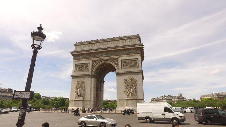 El Arco del Triunfo, Paris