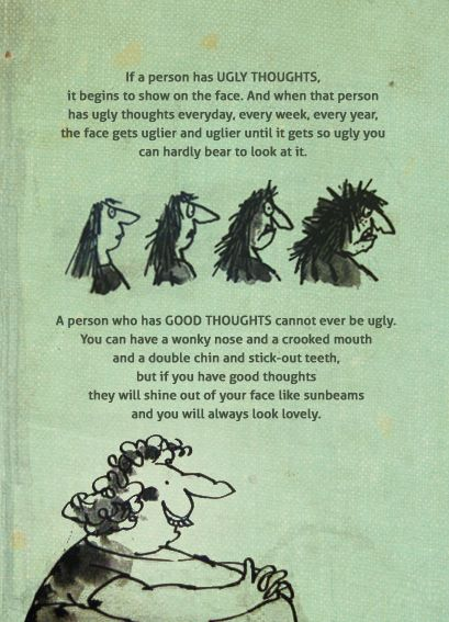 Be careful with your thoughts :)