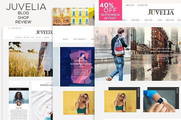Juvelia - Multi Blogging WP Theme by HRProShop