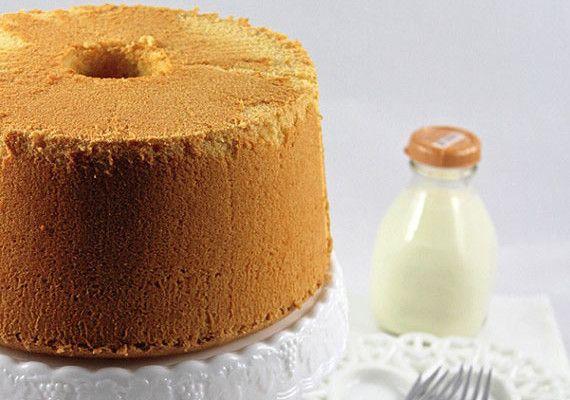 Lemon Chiffon Cake Heaven