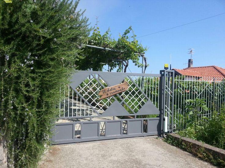 L'ingresso della nostra casa... The gate of our house.  #AmalfiCoast #ildolcetramonto    www.ildolcetramonto.it