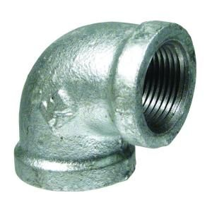 Mueller Global, 1/2 in. Galvanized Malleable Iron 90 degree FPT x FPT Elbow, 510-003HN at The Home Depot - Mobile
