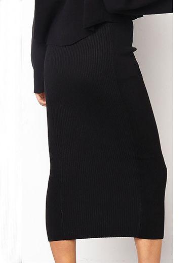 f38ea8aa8973 Women's Bodycon Style Midi Skirt - Stretchy Fabric / 2   fashion in ...