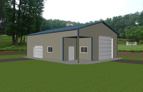 30 X 40 X 14 Hobby Buildings At Menards Pole Barns
