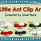 Little Ant Clip Art - Red Black Queen Ant Commercial OK