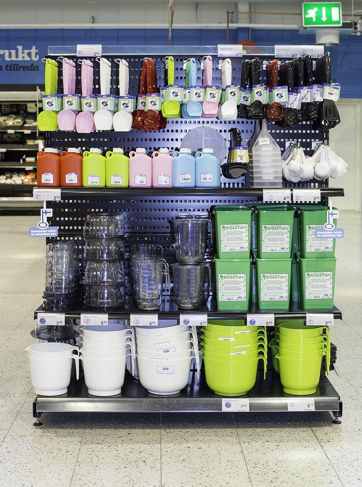 Kauhat kuntoon Plastexin hyllynpääty kokonaisuudessa! Made in Finland