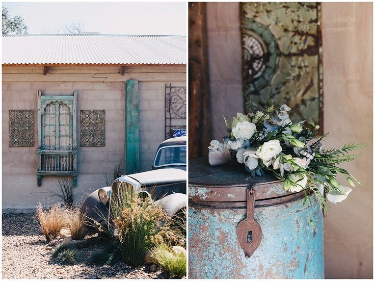www.vanillaphotography.co.za | Durban wedding photographer, Durban wedding venue, Crystal Barn wedding venue, rustic wedding venue, boho venue, rustic car, bridal bouquet, turquoise details.