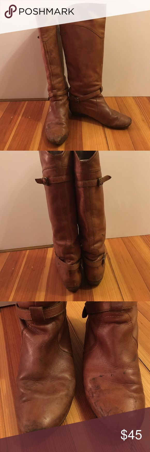 Dolce Vita very warn knee high boots Camel dolce vita knee high boots these boots are VERY warm in and great for the farm or the ranch but still look really cute Dolce Vita Shoes