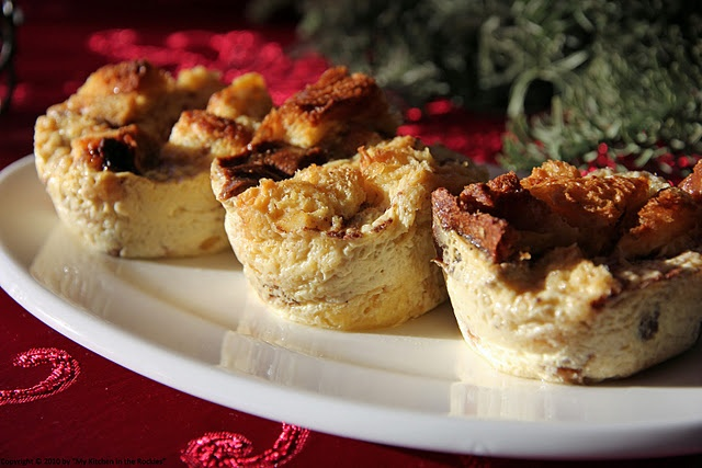Eggnog Panettone Bread Pudding by Kirsten| My Kitchen in the Rockies
