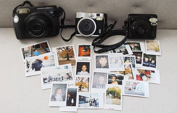The Fujifilm Instax Trio. Bringing back instant photography. Perfect for the 365 Gratitude Project. (Taking a picture of one thing each day of a year, that you are grateful for.)