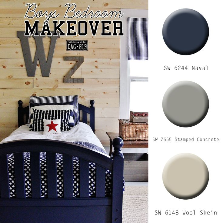 Boys Room Paint Color And Room Makeover Ideas @thistlewoodfarm