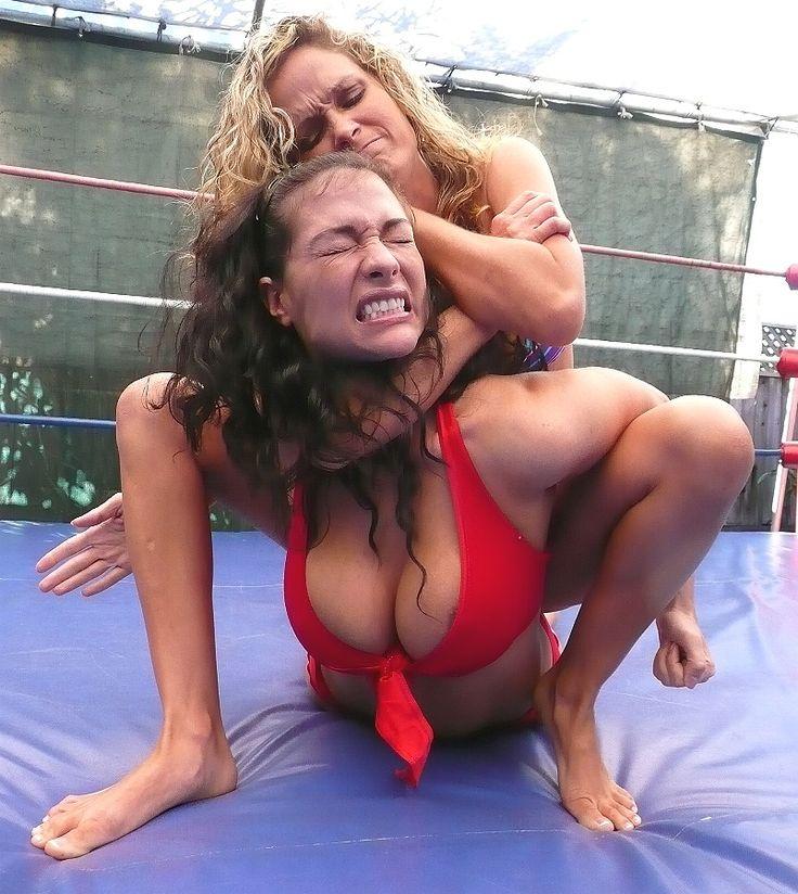 Submission bikini wrestling