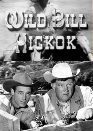 """Wild Bill Hickock 1951-1958  The legendary Old West lawman Marshal James Butler """"Wild Bill"""" Hickok, and his comedy sidekick Jingles P. Jones beat up the bad guys. Hickok rode Buckshot and 300-pound Jingles rode Joker. Jingles described Hickok as """"the bravest, Strongest, fightingest U.S. Marshal in the whole West."""""""
