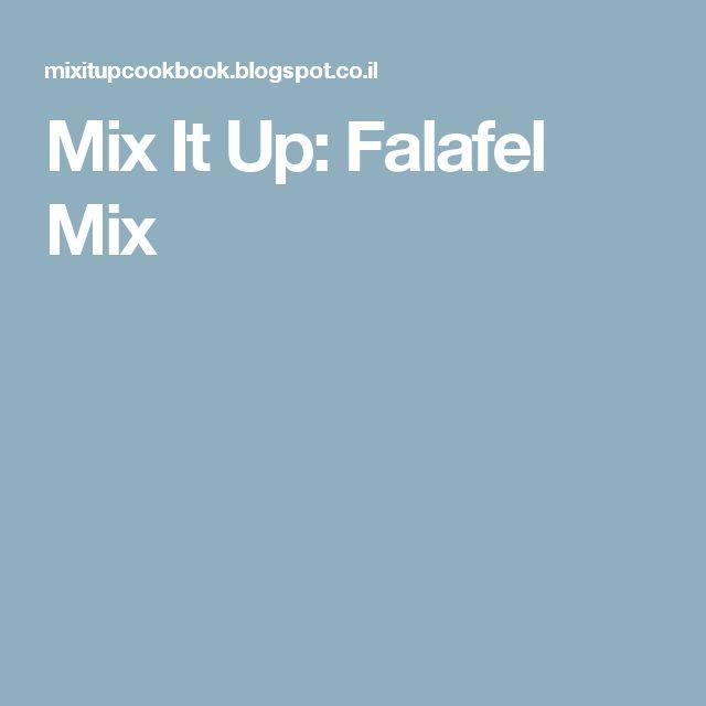 Mix It Up: Falafel Mix