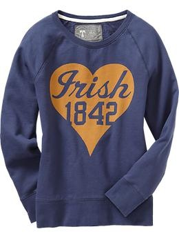 Women's College Team Sweatshirts